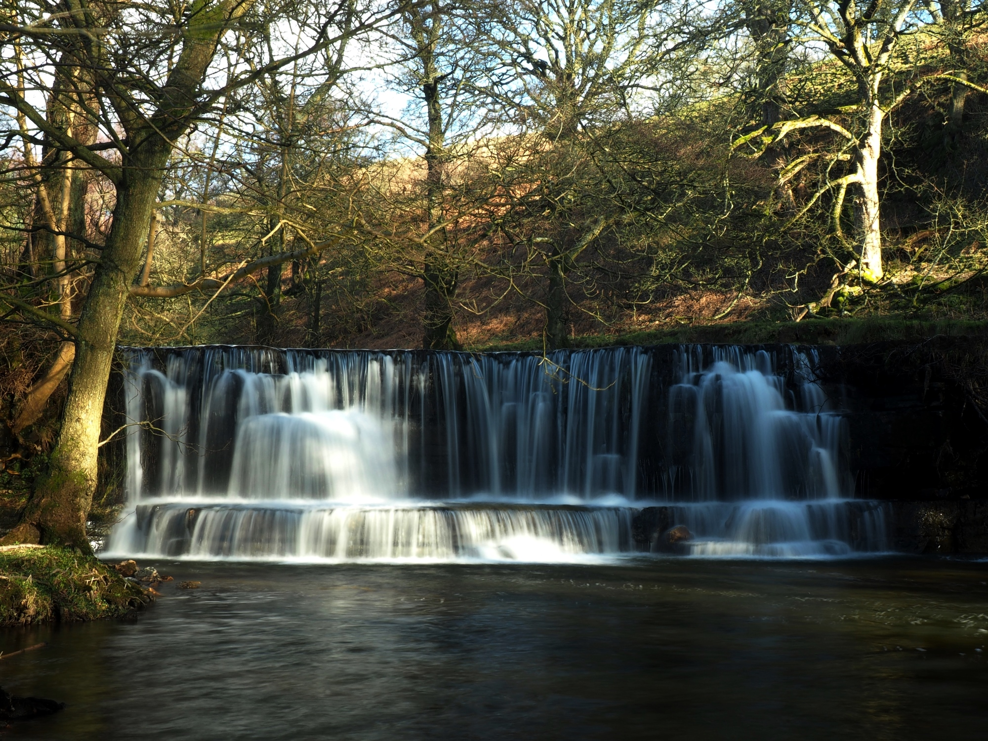 Nidd Falls, one of the lesser known waterfalls in the Yorkshire Dales