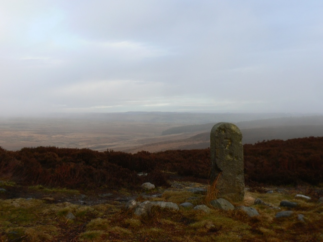 Boundary stone on Lippersley Pike