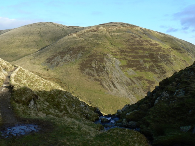 Yarlside from above Cautley Spout