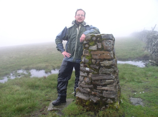 On my very wet and soggy first visit to Baugh Fell