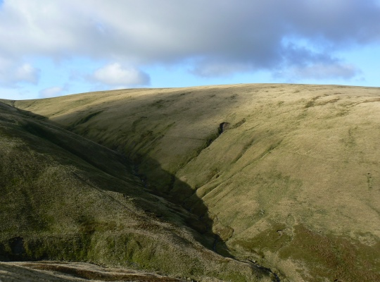 The Calf from above Cautley Spout