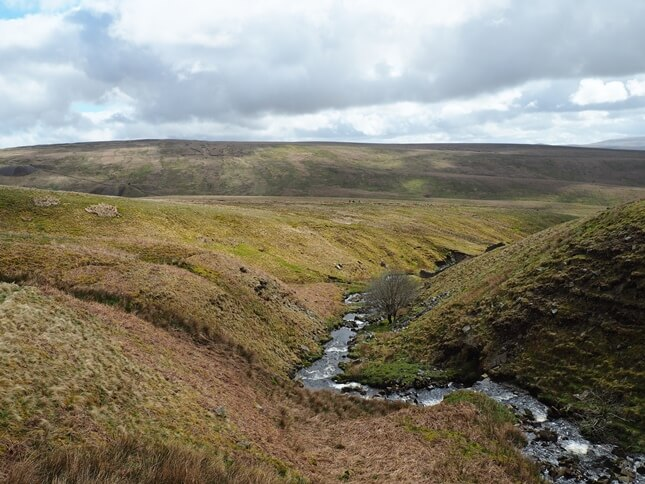 Blea Moor from Force Gill