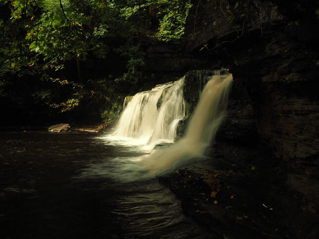 A close up of the lower section of Cotter Force