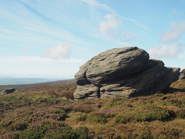 One of the large rocks at Great Pock Stones