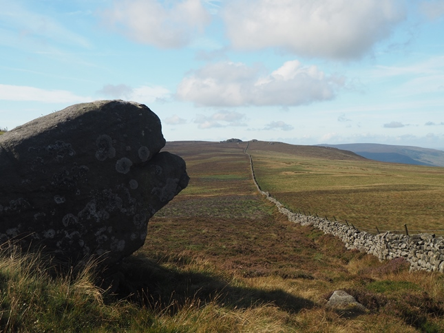 Looking towards Barden Fell from Great Pock Stones