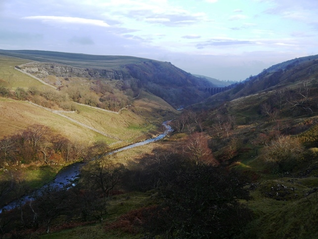 The superb valley of Smardale with Nettle Hill to the left