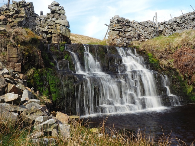 Waterfall on Foxup Beck