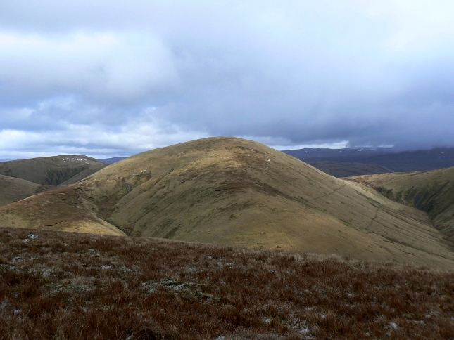 Randygill Top from Hazelgill Knott on the other side of Bowderdale