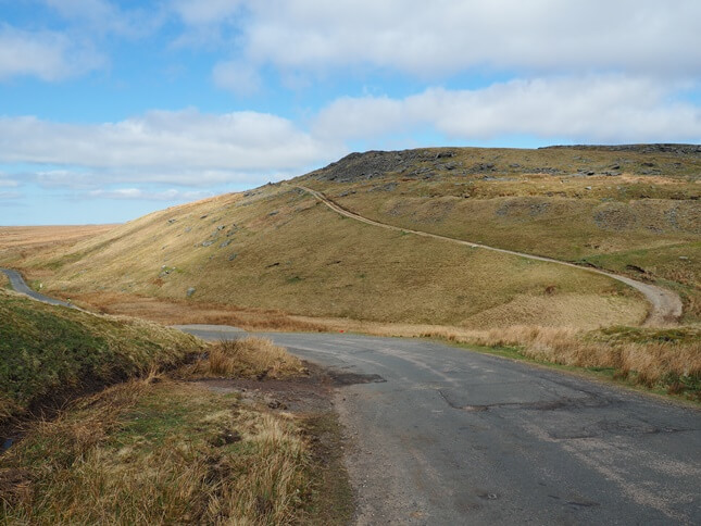 High Greygrits above the Tan Hill to Barras road