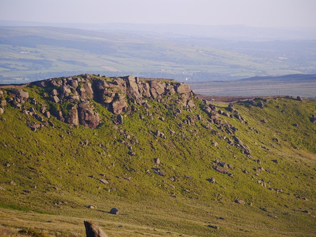 A section of Rylstone Edge