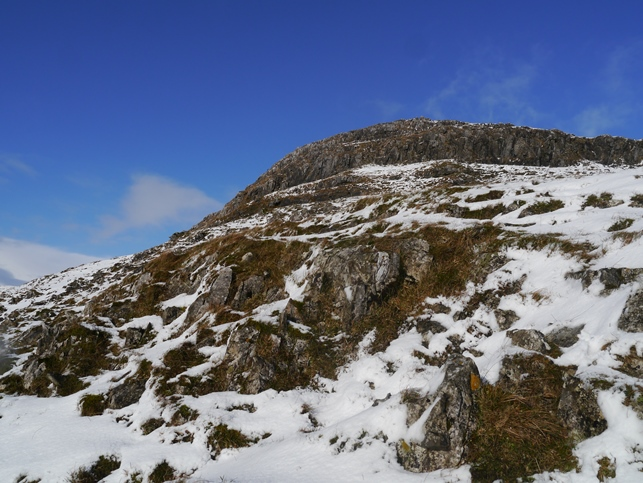 The steep crags of Smearsett Scar