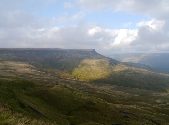 Wild Boar Fell from Swarth Fell