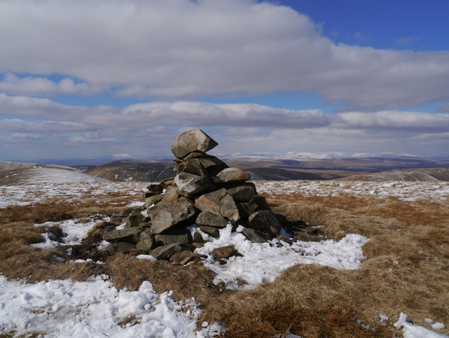 The summit cairn on Randygill Top
