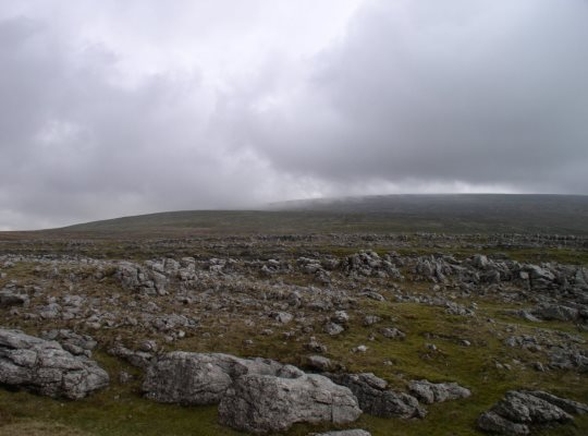 Limestone on Fell End Clouds