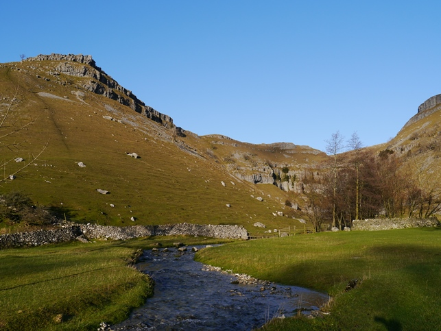 The entrance to Gordale Scar