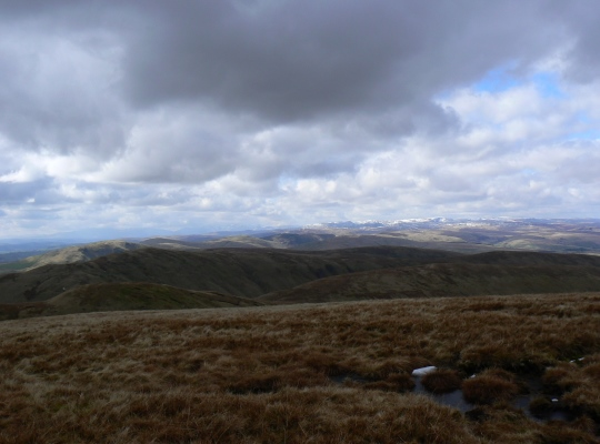 Simon's Seat above Langdale