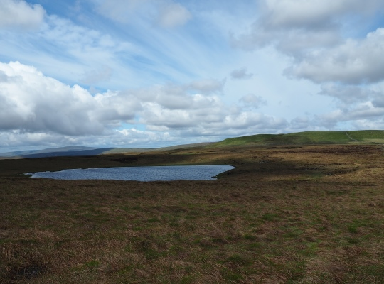 Woldside and Oughtershaw Tarn