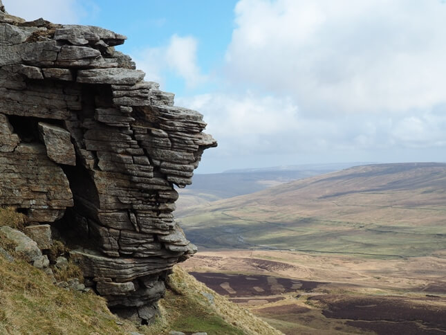 The 'Old Man of Pen-y-ghent'