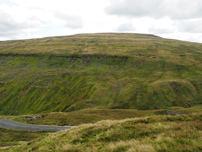 Looking across the Buttertubs Pass to Lovely Seat