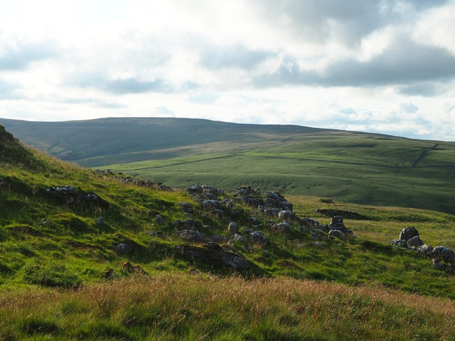 Darnbrook Fell from the south below Parson's Pulpit