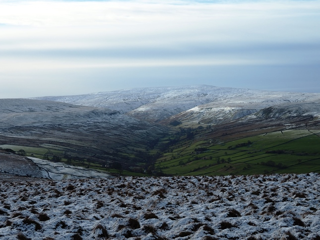 Buckden Pike and Walden Head from Harland Hill