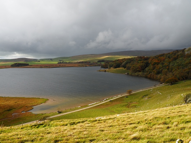 Malham Tarn from the slopes of Great Close Hill