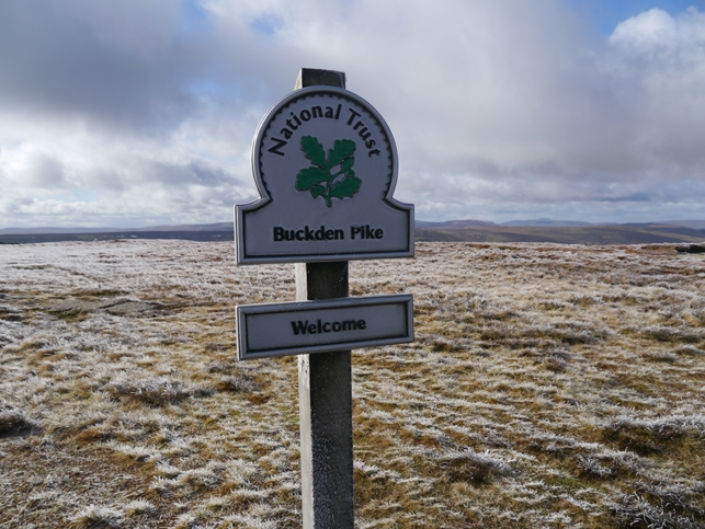 Much of Buckden Pike is owned by the National Trust