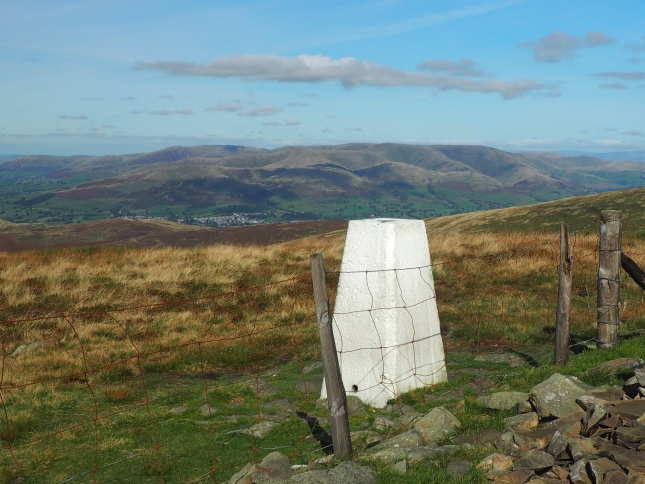 Looking towards Sedbergh and the Howgill Fells