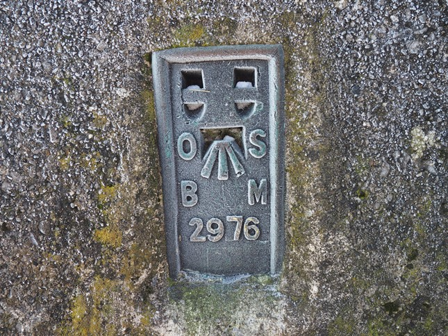 The trig point's flush bracket