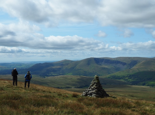 The Howgill Fells from Wild Boar Fell