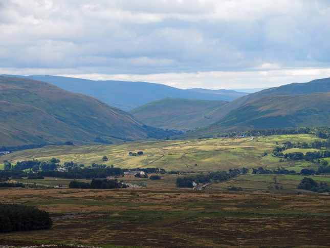 The Lune Gorge from Long Scar Pike