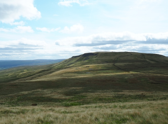 Swarth Fell from Wild Boar Fell