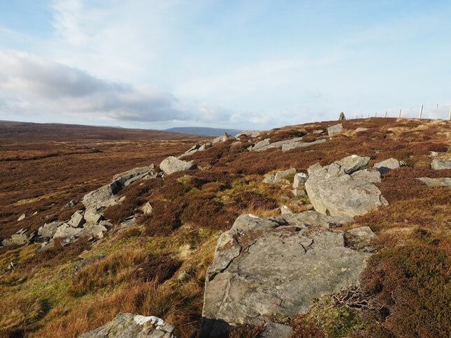 The summit of Oxnop Common is called Blackstone, or Blackstone Edge