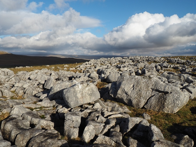 Limestone pavement on Malham Moor