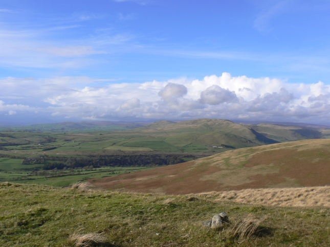 The view west from Brown Moor
