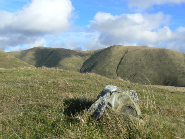The top of Brown Moor looking towards Bush Howe and White Fell