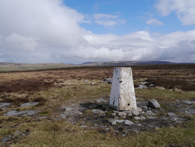 The Firth Fell trig point - not the highest point of Birks Fell