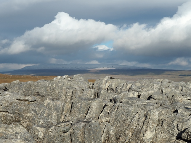 The summit of Malham Moor looking towards Great Whernside