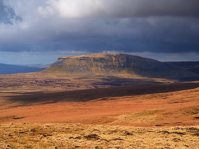 Pen-y-ghent from Knowe Fell