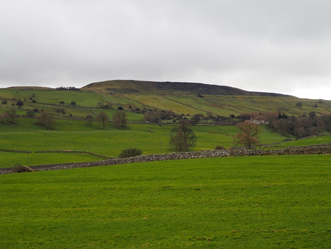Penhill from near West Witton