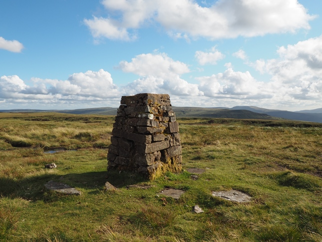 The Nine Standards Rigg trig point