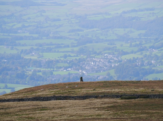 Garsdale Pike and Sedbergh