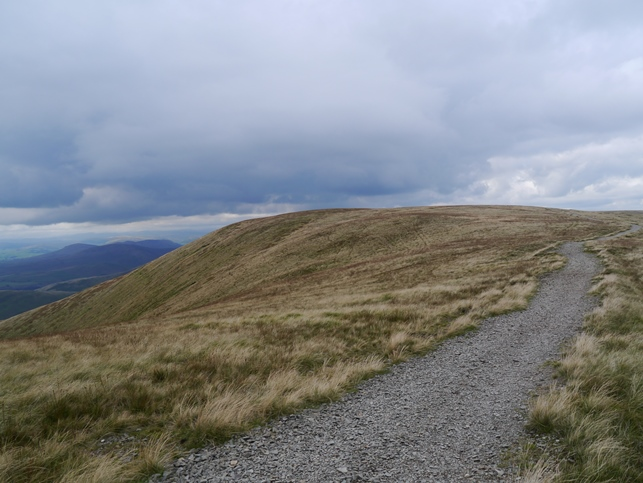 Bram Rigg Top to the left of the wide path between Calders and The Calf