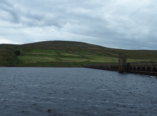 Angram Reservoir and Little Whernside