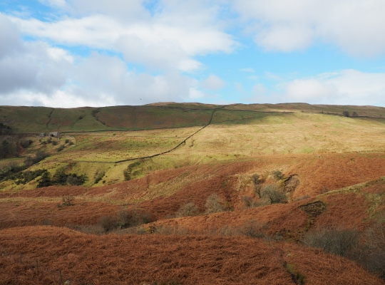 Barbon Low Fell from above Leck Beck