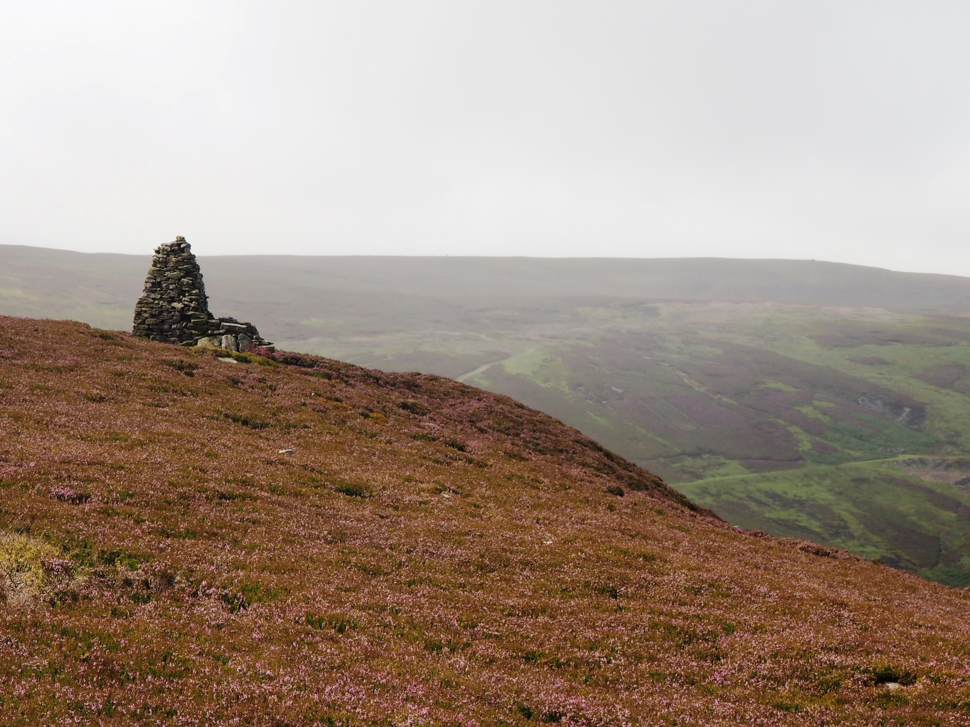 Beacon on Whitaside Moor