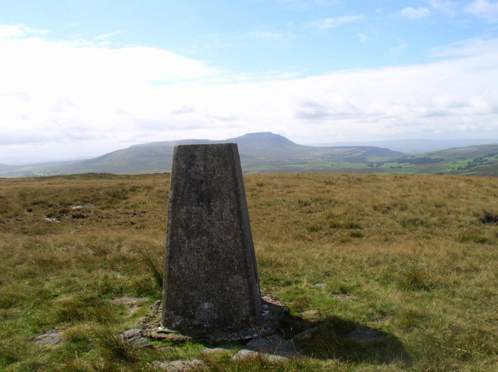 Blea Moor Trig Point