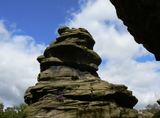 One of many rocks towers at Brimham Rocks