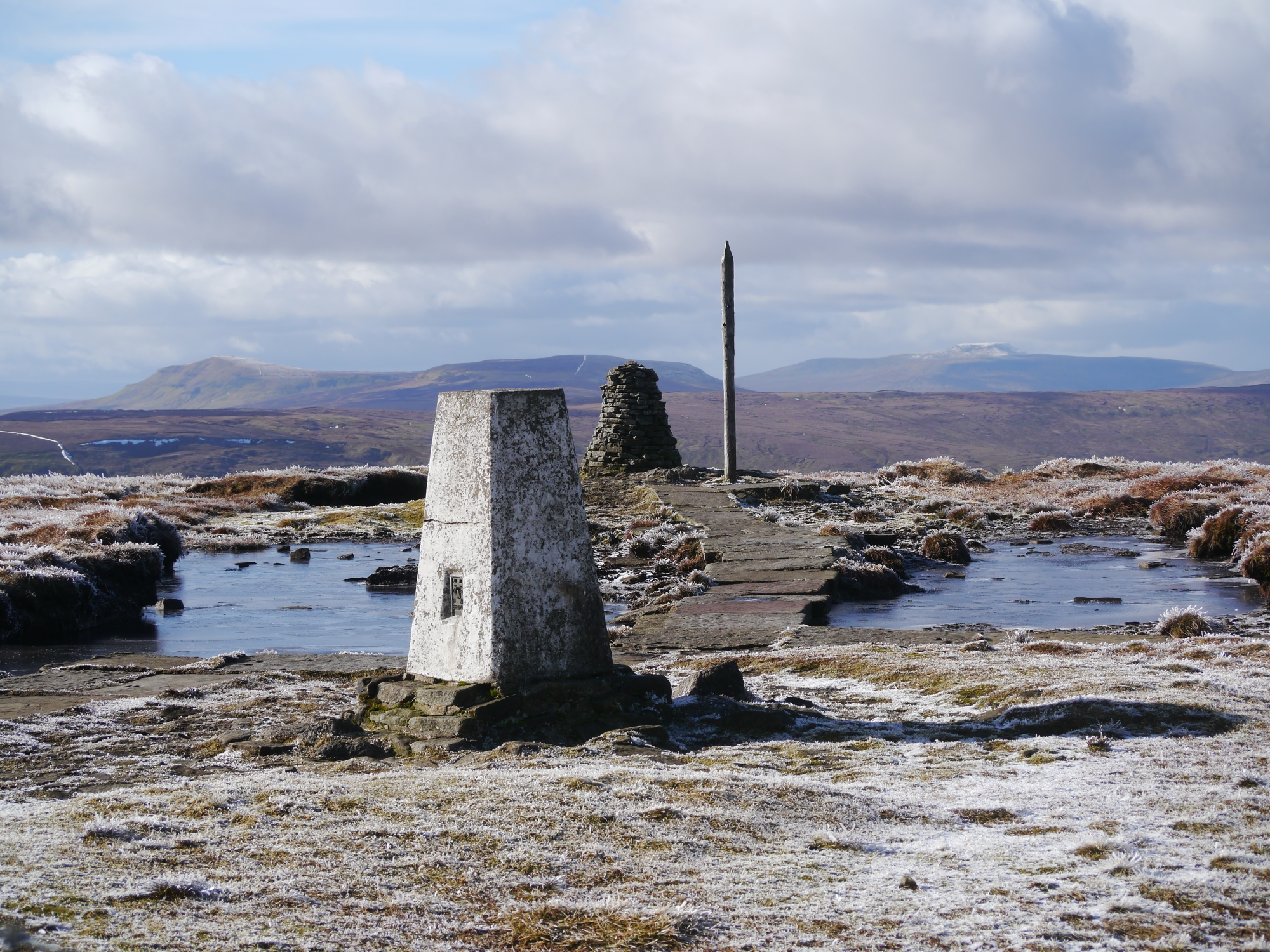 Buckden Pike Trig Point