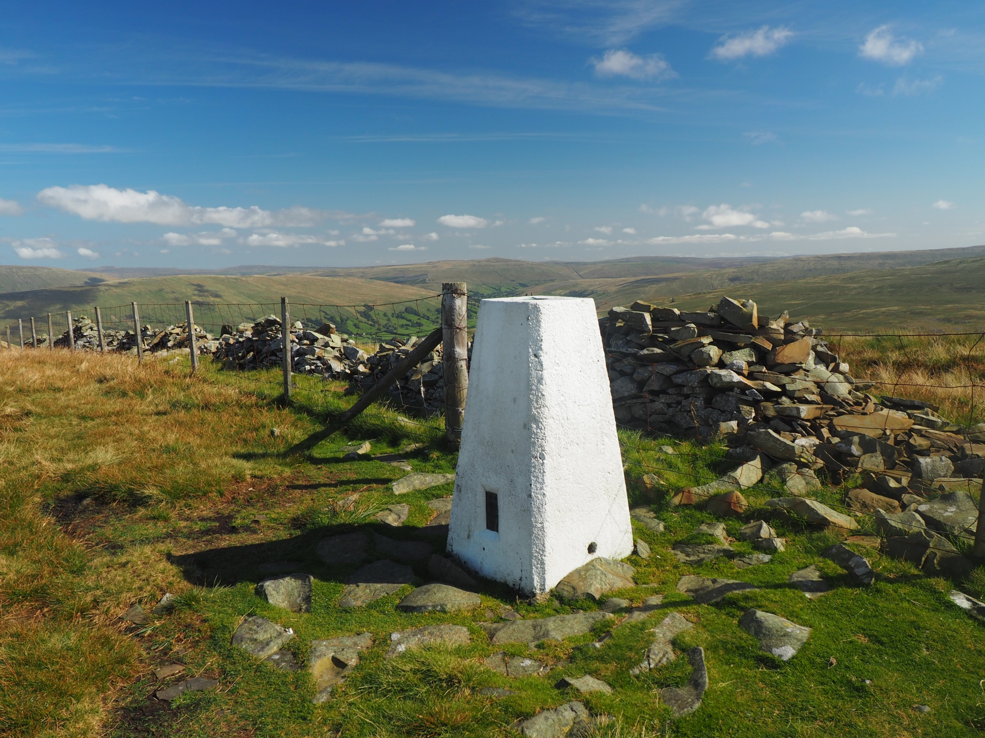 The Calf Top trig point